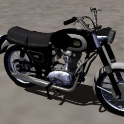 ducati 250 de luxe 3d model 3ds versnit 321364