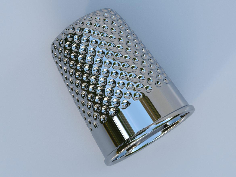 метален напръстник 3d модел max fbx obj 321384