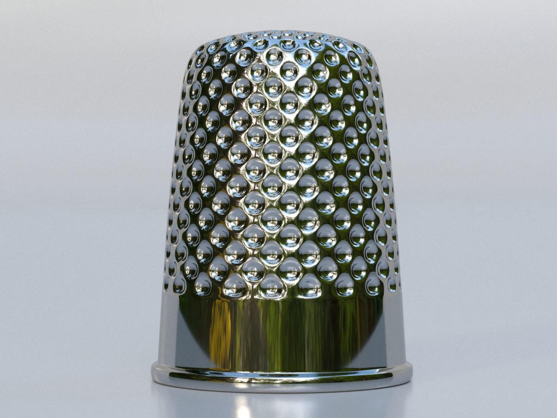 метален напръстник 3d модел max fbx obj 321385