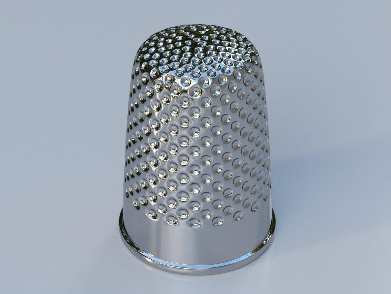 метален напръстник 3d модел max fbx obj 321386