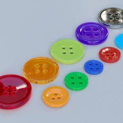копчиња за облека 3d модел max fbx obj 321399
