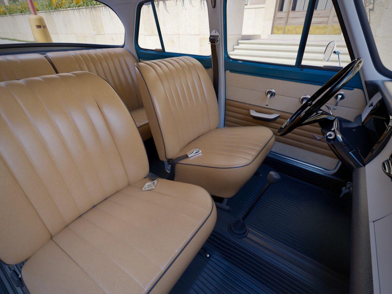 skoda 1000 mb 1964 3d модель 3ds max fbx c4d dae obj 321430