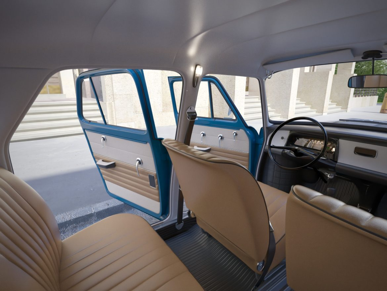 skoda 1000 mb 1964 3d модель 3ds max fbx c4d dae obj 321431