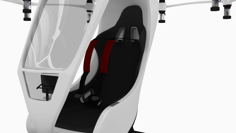 """""""airlift hexa"""" 3D modelis 3ds max fbx obj 321450"""
