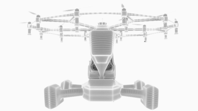 """""""airlift hexa"""" 3D modelis 3ds max fbx obj 321454"""