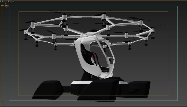 """""""airlift hexa"""" 3D modelis 3ds max fbx obj 321458"""