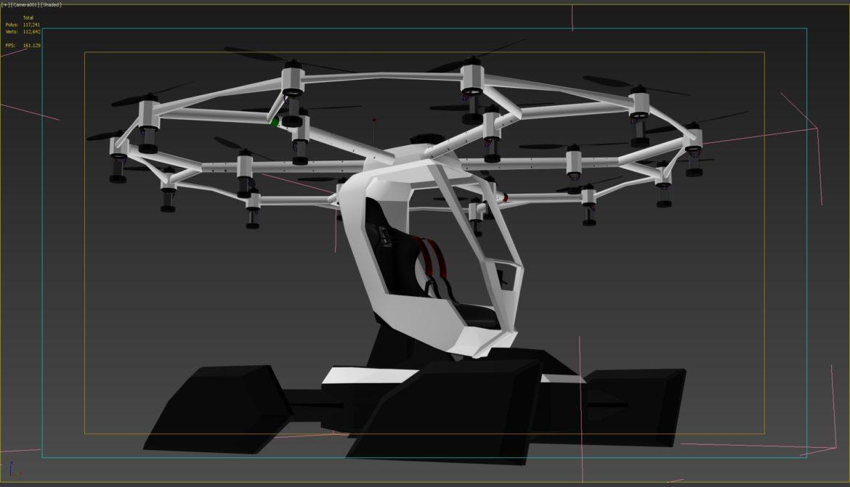 """""""airlift hexa"""" 3D modelis 3ds max fbx obj 321459"""