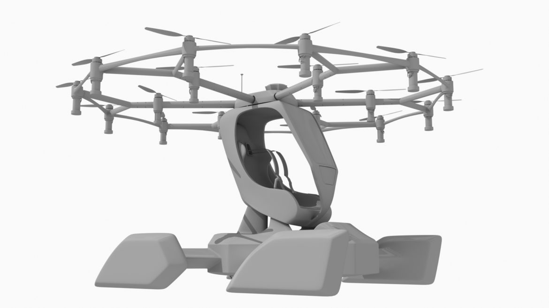 """""""airlift hexa"""" 3D modelis 3ds max fbx obj 321461"""