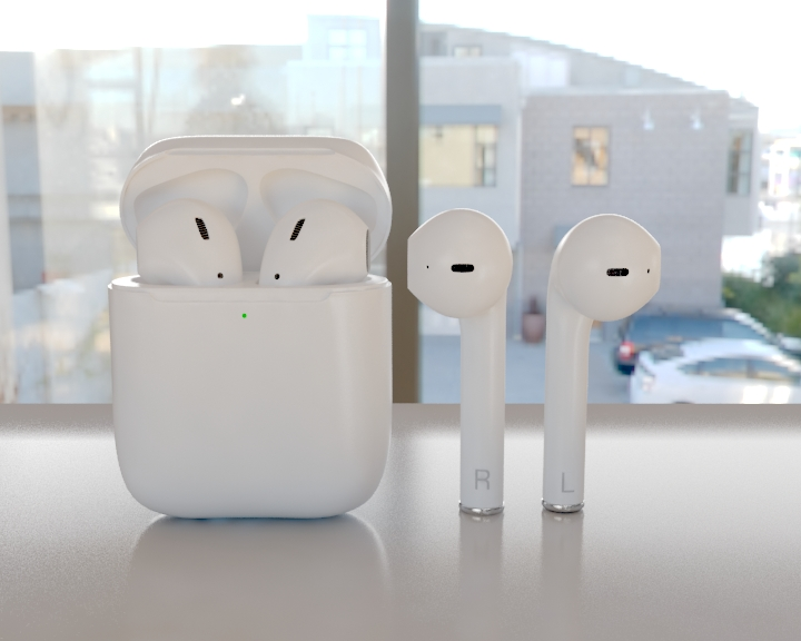 apple airpods 3d model 3ds max fbx 321469