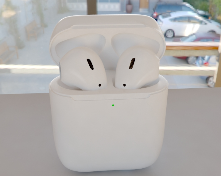 """Apple airpods"" 3D modelis 3ds max fbx 321471"