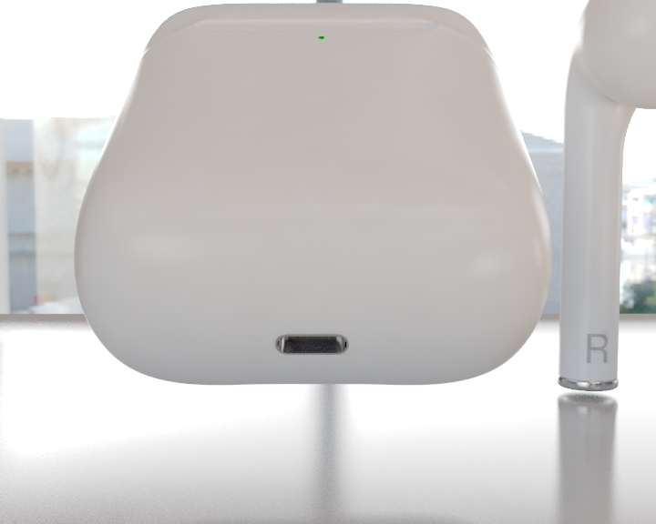 apple airpods 3d model 3ds max fbx 321475
