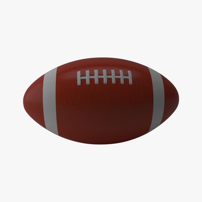 американський футбол 3d модель 3ds max fbx obj 321487