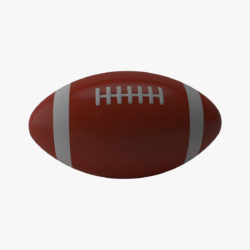 american football 3d model 3ds max fbx obj 321487