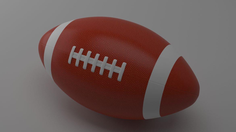 американський футбол 3d модель 3ds max fbx obj 321488