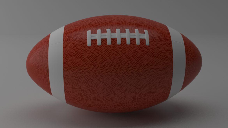 американський футбол 3d модель 3ds max fbx obj 321489