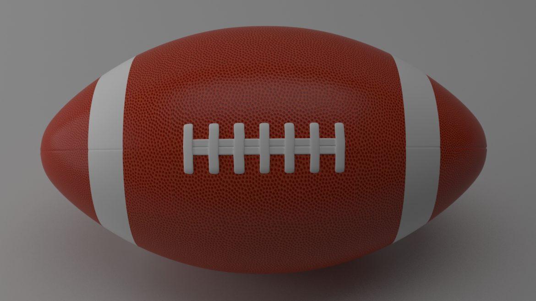 американський футбол 3d модель 3ds max fbx obj 321490