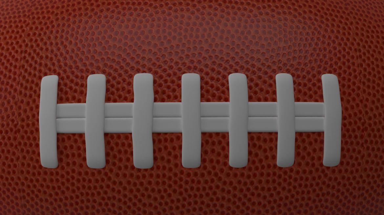 американський футбол 3d модель 3ds max fbx obj 321491