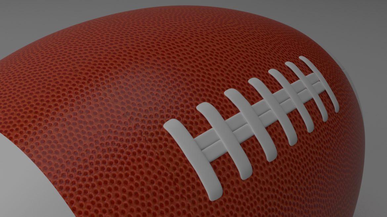американський футбол 3d модель 3ds max fbx obj 321492