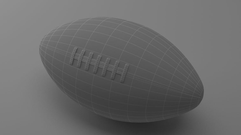 американський футбол 3d модель 3ds max fbx obj 321494