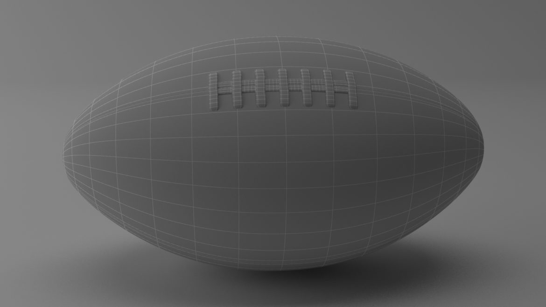 американський футбол 3d модель 3ds max fbx obj 321495