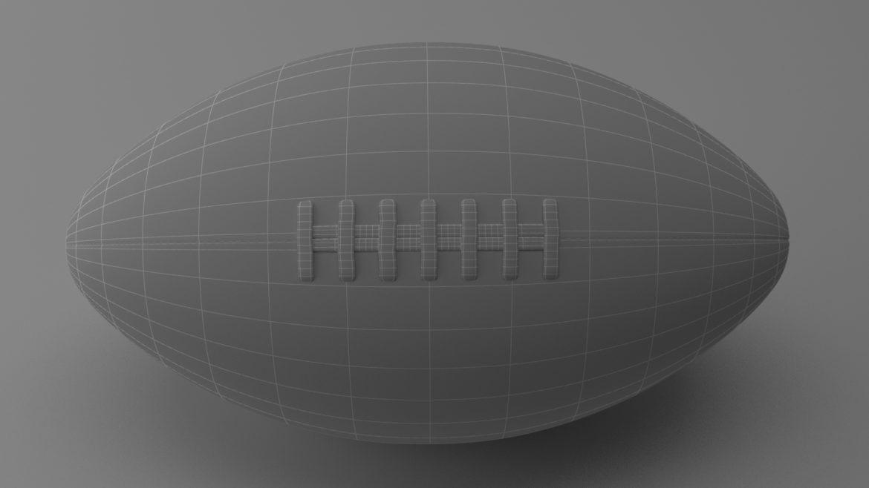 американський футбол 3d модель 3ds max fbx obj 321496