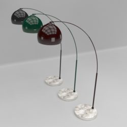arched floor lamp 3d model 3ds max fbx obj 321506