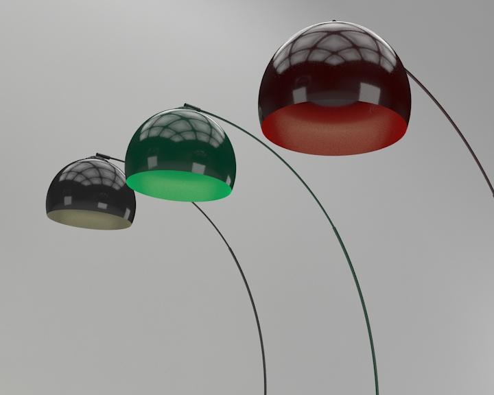 kemerli yer lambası 3d model 3ds max fbx obj 321509