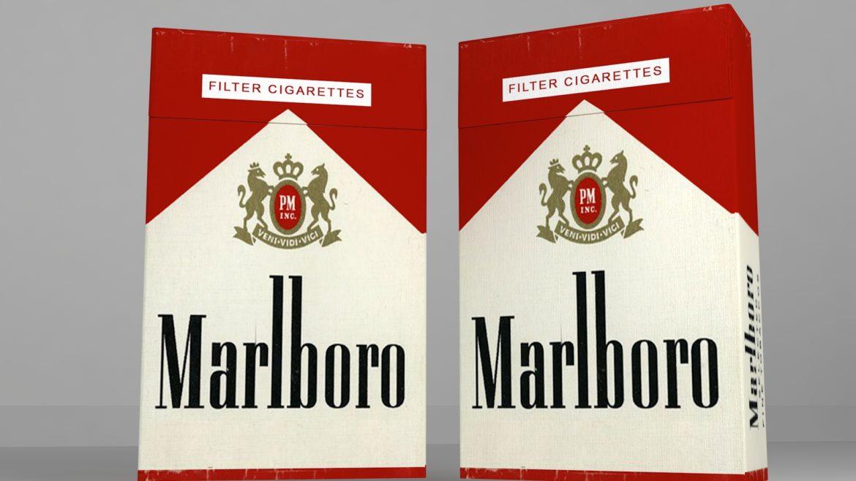 пакет сигарет 3D модель 3ds max fbx obj 321537