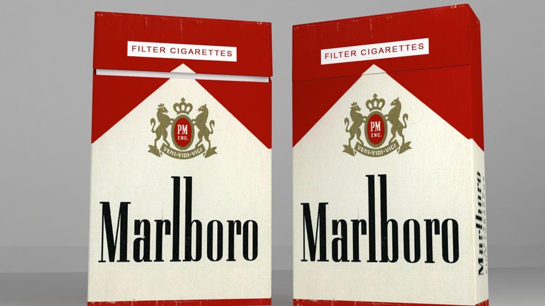 пакет сигарет 3D модель 3ds max fbx obj 321538