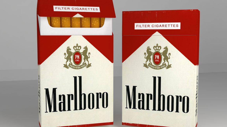 пакет сигарет 3D модель 3ds max fbx obj 321540