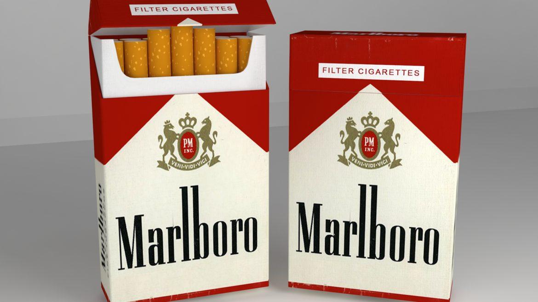пакет сигарет 3D модель 3ds max fbx obj 321541