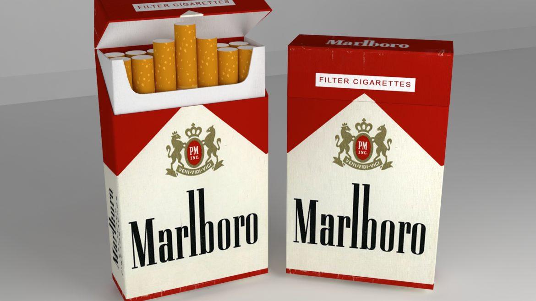 пакет сигарет 3D модель 3ds max fbx obj 321542