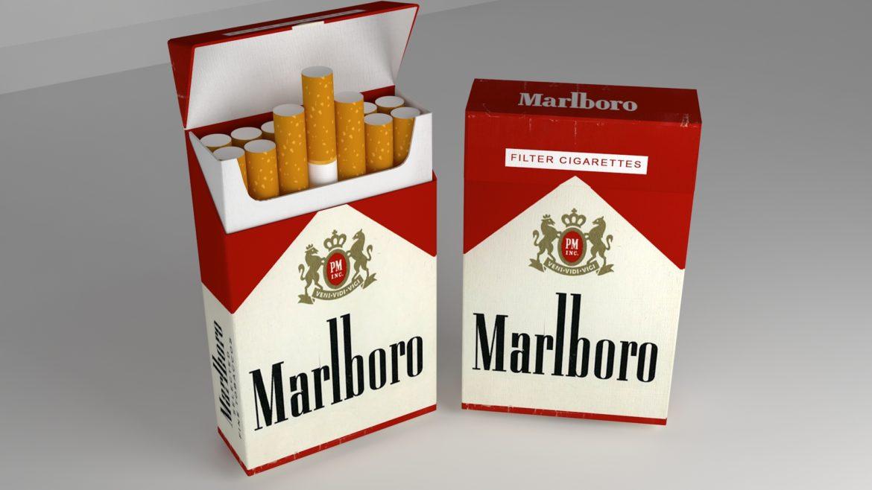 пакет сигарет 3D модель 3ds max fbx obj 321544