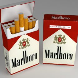 cigarette pack 3d model 3ds max fbx obj 321545