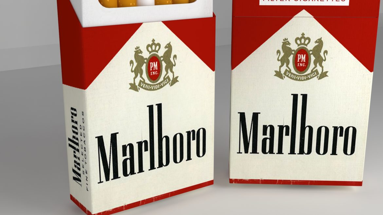 пакет сигарет 3D модель 3ds max fbx obj 321548