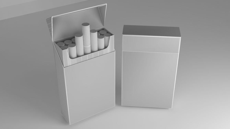 пакет сигарет 3D модель 3ds max fbx obj 321550
