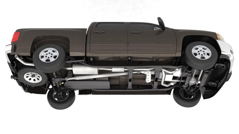генеричен пикап с кабина за екипаж 19 3d модел 3ds max fbx blend obj 321621
