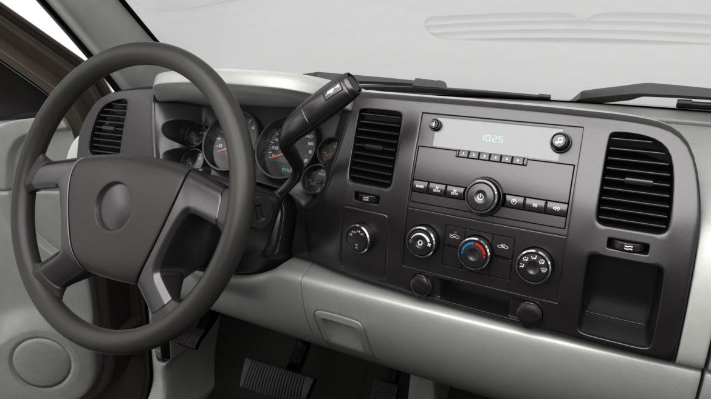 генеричен пикап с кабина за екипаж 19 3d модел 3ds max fbx blend obj 321636