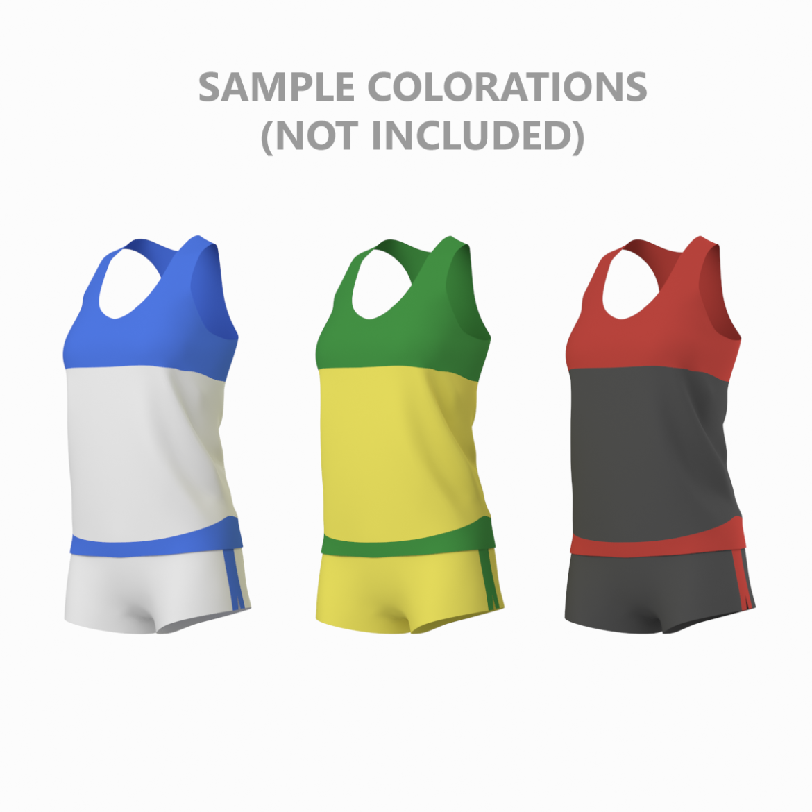 woman sportswear 03 base mesh design kit 3d model 3ds max fbx blend c4d dae ma mb  obj ztl 321878