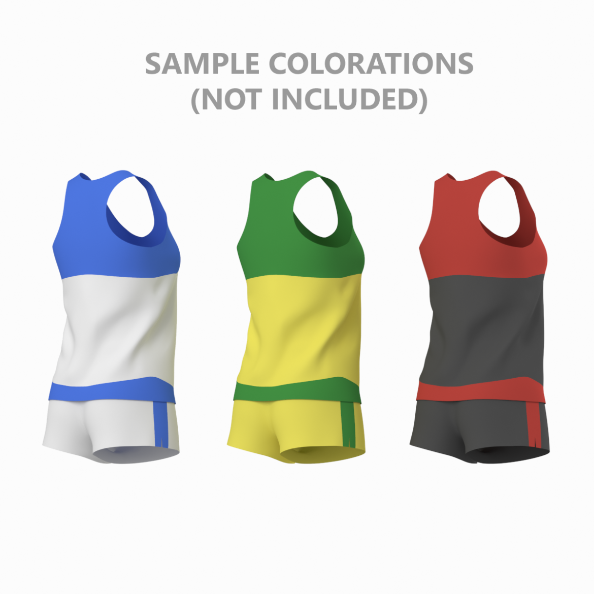 woman sportswear 03 base mesh design kit 3d model 3ds max fbx blend c4d dae ma mb  obj ztl 321879