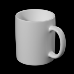 coffee and tea ceramic mug base mesh 3d model 3ds max fbx blend c4d dae ma mb  obj ztl 322062