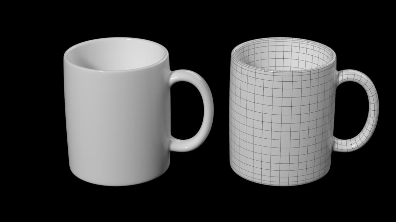 kavos ir arbatos keramikos puodelio pagrindo tinklelis 3D modelis 3ds max fbx mišinys c4d dae ma mb obj ztl 322064