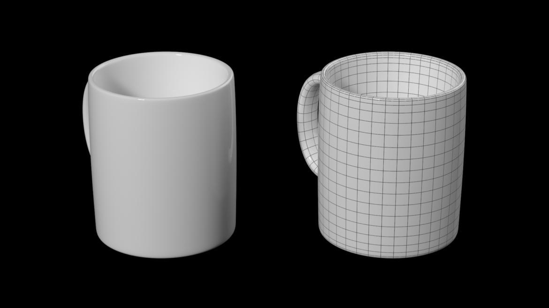 kavos ir arbatos keramikos puodelio pagrindo tinklelis 3D modelis 3ds max fbx mišinys c4d dae ma mb obj ztl 322067