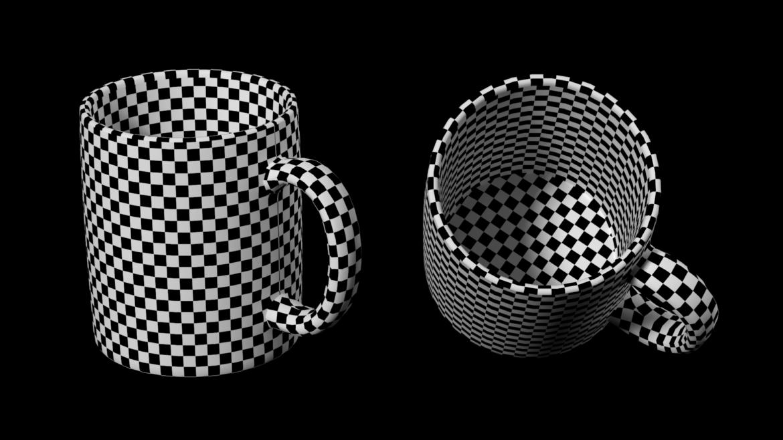 coffee and tea ceramic mug base mesh 3d model 3ds max fbx blend c4d dae ma mb  obj ztl 322075
