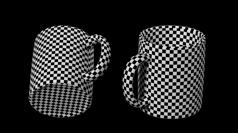kavos ir arbatos keramikos puodelio pagrindo tinklelis 3D modelis 3ds max fbx mišinys c4d dae ma mb obj ztl 322076