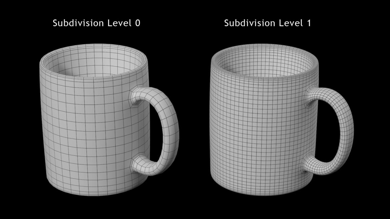 kavos ir arbatos keramikos puodelio pagrindo tinklelis 3D modelis 3ds max fbx mišinys c4d dae ma mb obj ztl 322078