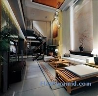 Highly Realistic Living Room Interior Scene