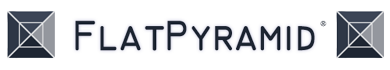FlatPyramid 3Dモデル