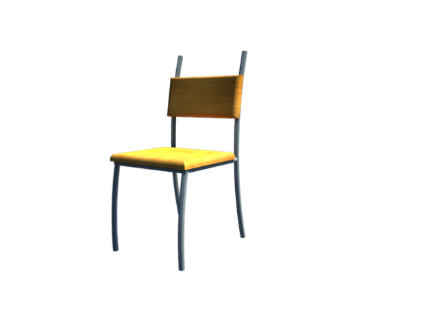 chair 3d model custom