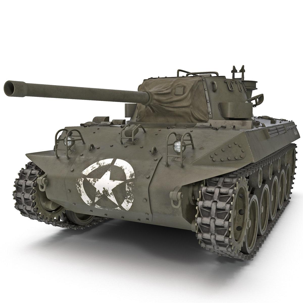 militærtank tilpasset 3d